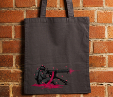 Machine Gun Bloom Bloom Tote Bag