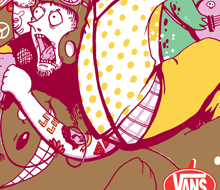 Vans Warped Tour 2013 Poster