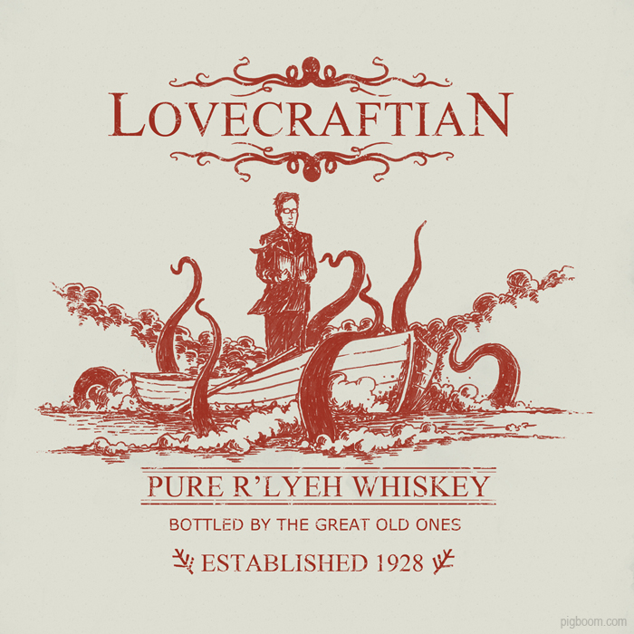 Lovecraftian Pure R'lyeh Whiskey