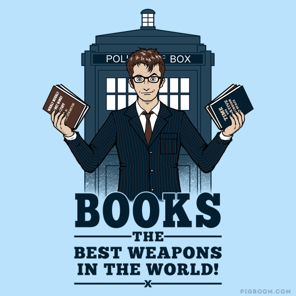 Books! The Best Weapons in the World